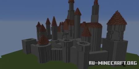 Скачать Basic Castle by Sephiroth1 для Minecraft