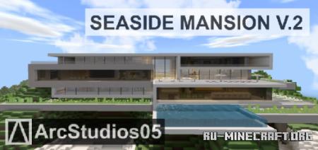 Скачать Seaside Mansion V.2 - Modern House для Minecraft PE