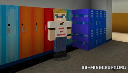 Скачать Napoleon Dynamite's High School для Minecraft PE