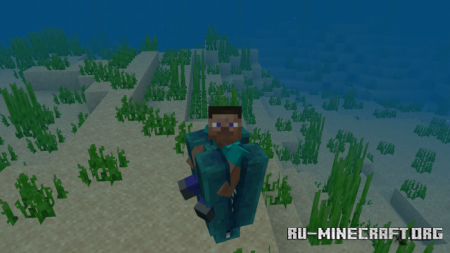 Скачать Deep Ocean Monster and Hovering Inferno для Minecraft PE 1.16