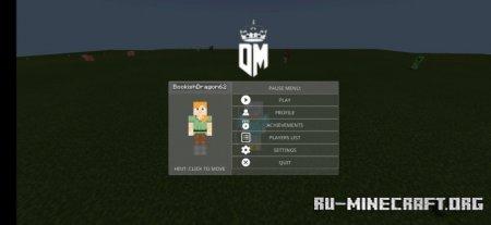 Скачать DMOD (Keystrokes Mod, Click Display, etc) для Minecraft PE 1.16