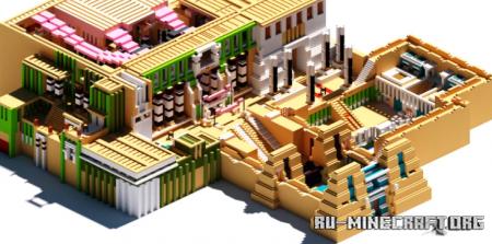 Скачать Electra palace. Inspired by Yu-Gi-OH для Minecraft