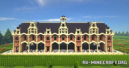 Скачать Louis XIII-style Chateau для Minecraft