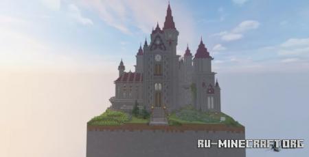Скачать Fantasy Medieval Castle by Weisscream17 для Minecraft