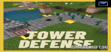 Скачать Insomnia Tower Defense для Minecraft PE