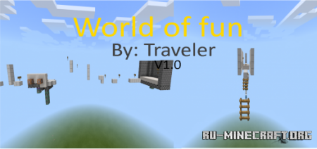 Скачать World of Fun V1.0 для Minecraft PE