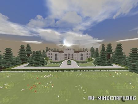 Скачать Sandstone Villa - Massive Classical Mansion для Minecraft PE