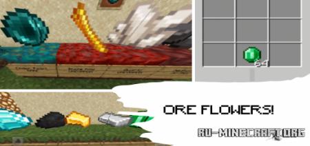 Скачать Ore Flowers для Minecraft PE 1.16