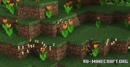 Скачать Swarm of Bees для Minecraft 1.16