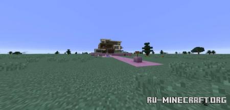 Скачать Modern End House для Minecraft