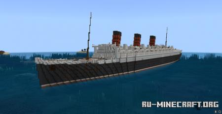 Скачать RMS Queen Mary для Minecraft PE