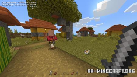 Скачать Clean UI by AK для Minecraft PE 1.16