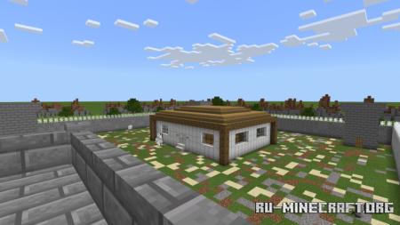 Скачать Military Base Map для Minecraft PE