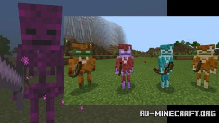 Скачать Biomobs для Minecraft PE 1.16