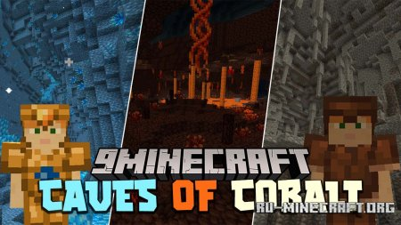 Скачать Caves of Cobalt для Minecraft 1.15.2