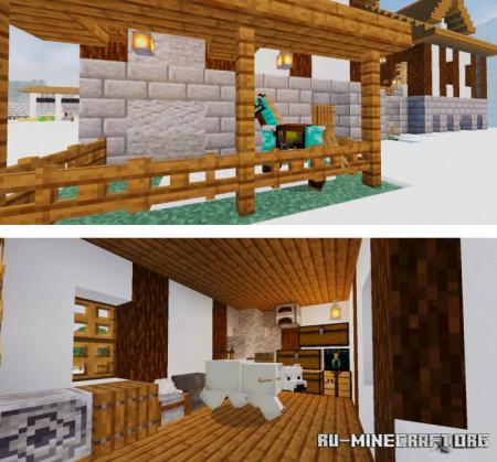 Скачать Technoblade's Base для Minecraft PE