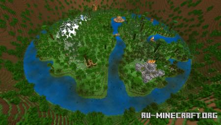 Скачать Hunger Games (Auto-Reset) для Minecraft PE