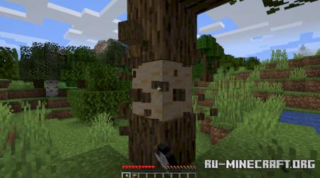 Скачать Tree Chop для Minecraft 1.16.5