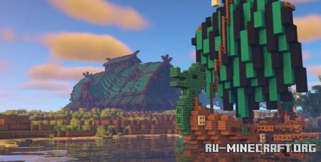 Скачать Viking Longhouse by Ketashike для Minecraft