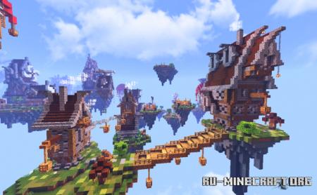 Скачать Sky Villa для Minecraft PE