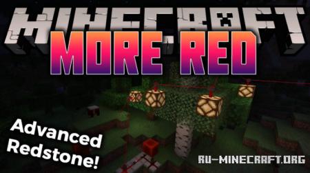 Скачать More Red для Minecraft 1.16.5