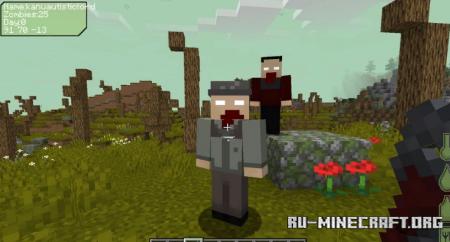 Скачать DayZ Remastered для Minecraft 1.16.5