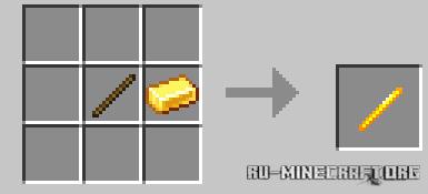 Скачать Golden Utilities: Transport Any Mob and Much More для Minecraft PE 1.16