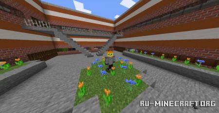 Скачать Pinevile High School для Minecraft