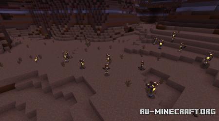 Скачать Adapted Mobs V1 для Minecraft PE 1.16