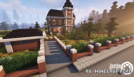 Скачать A Victorian House by JUMBO STUDIO для Minecraft