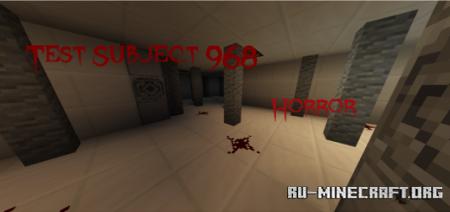 Скачать Test Subject 968 (Horror) для Minecraft PE