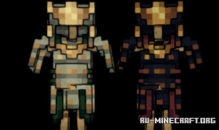 Скачать Samurai Gear для Minecraft 1.16