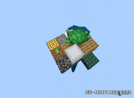 Скачать KCMD Random Item Skyblock для Minecraft PE