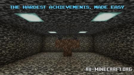 Скачать Achievement World для Minecraft PE