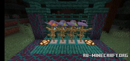 Скачать Little Witch Academia Hats для Minecraft PE 1.16