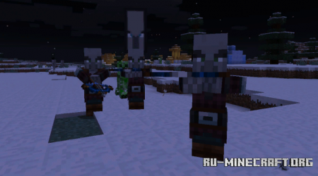 "Скачать The Weapons of ""Minecraft Dungeons"" для Minecraft PE 1.16"