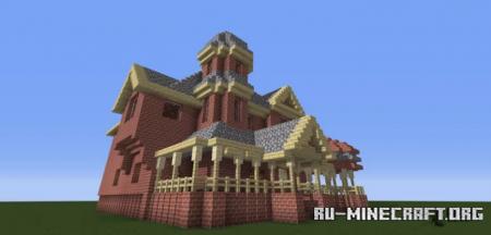 Скачать Victorian Style Brick House для Minecraft