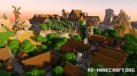 Скачать Lakewell Kingdom для Minecraft PE