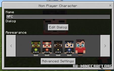 Скачать Better NPC для Minecraft PE 1.16