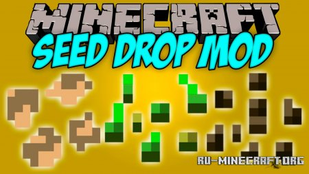 Скачать Seed Drop для Minecraft 1.16.5