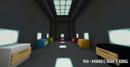 Скачать Super Parkour by MrUranium92 для Minecraft PE