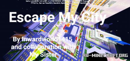 Скачать Escape My City для Minecraft PE