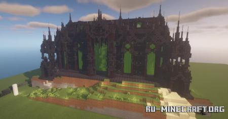 Скачать Dark Ruins Cathedral для Minecraft