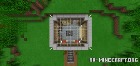 Скачать The Jungle Base by MrUranium92 для Minecraft PE