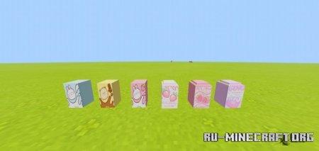 Скачать Kawaii Decorations для Minecraft PE 1.16
