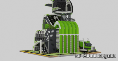Скачать Ultra Modern Farming Complex для Minecraft