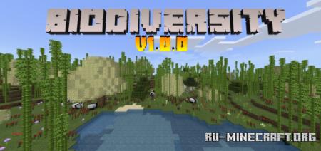 Скачать Biodiversity для Minecraft PE 1.16