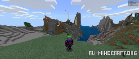 Скачать Force Coords для Minecraft PE 1.16