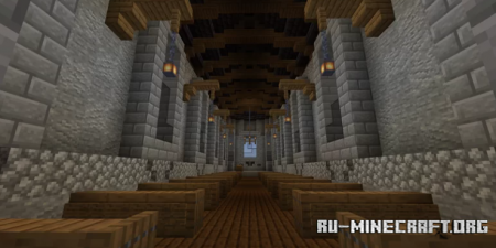 Скачать Medieval Church by TheHyperboloid для Minecraft