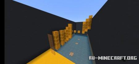 Скачать Parkour Colourful для Minecraft PE
